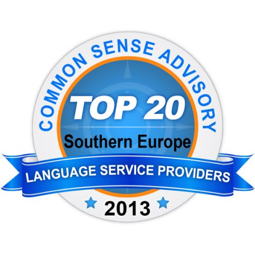 Badge Top 20 LSP Southern Europe 2013