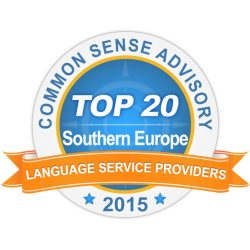 Badge Top 20 LSP Southern Europe 2015