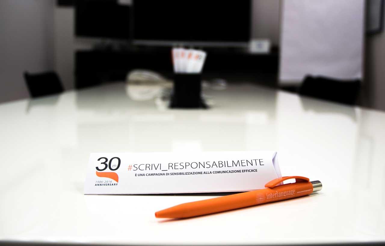 Scrivi responsabilmente